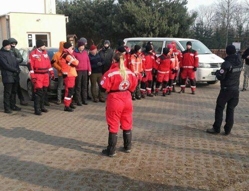 Ćwiczenia poszukiwawczo-ratownicze na terenie gminy Sierpc